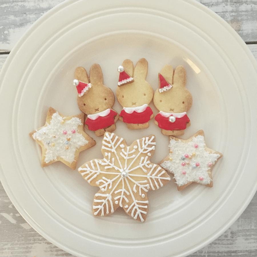 クッキー ミッフィ アイシング クリスマス