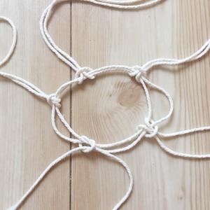マクラメ 編み方 丸