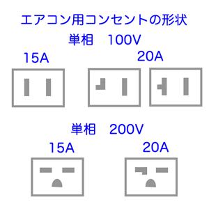 エアコン用 コンセント
